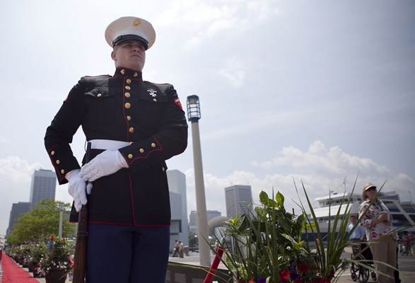 Lance Cpl. Robert Smith, a rifleman with 3rd Battalion, 25th Marine Regiment, and a native of Buffal
