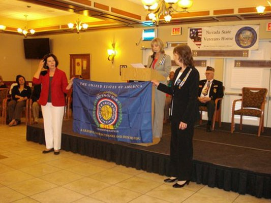 On March 27, 2014 The Silver State Chapter of Daughters of the American Revolution held a recognitio