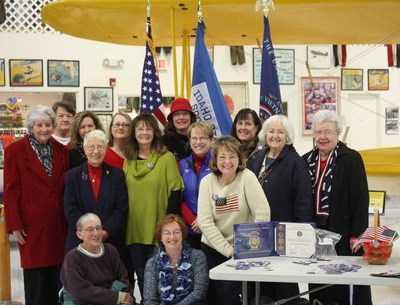 Idaho State Society DAR members from Pioneer, EE DAH HOW and Idaho Pocahontas Chapters across South