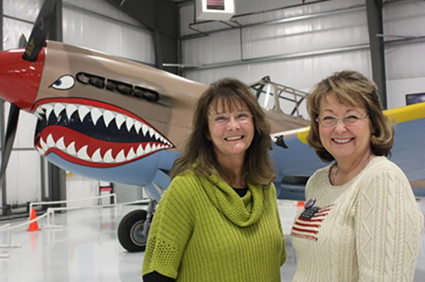 Idaho State Regent Rebecca Bowen-Odom and Idaho State Vice Regent Rhonda Kren at the Event
