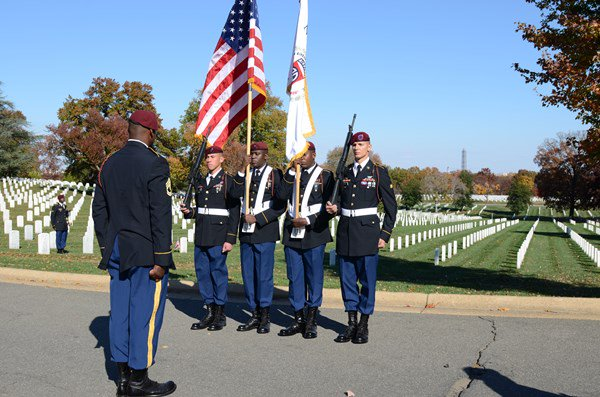 Washington, DC -- November 11, 2013 – The Women in the Military Service for America Memorial, Founda