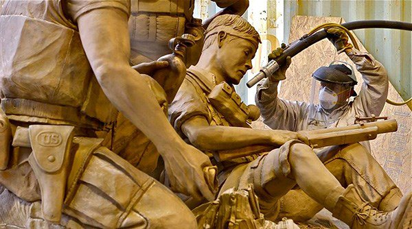 A closer look at the new Texas Capitol Vietnam Veterans Monument