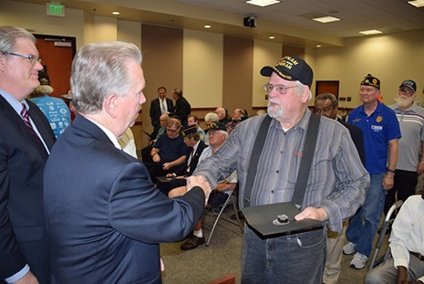 Presentation Honoring the Service of Vietnam Vets