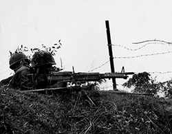 9th Marines Defensive Position