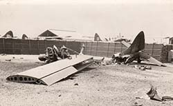 Aircraft Wreckage at Binh Thuy Airbase