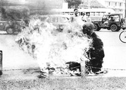 Buddhist Monk Self-Immolates