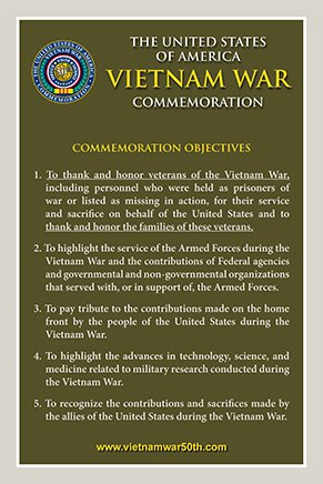 Commemoration Objectives