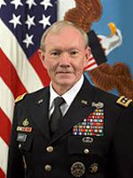 General Martin E. Dempsey during Memorial Day at The Wall 2012