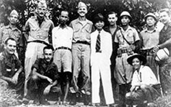 Ho Chi Minh and Vo Nguyen Giap