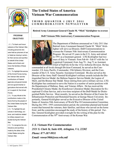 Commemoration_Newsletter_3rd_Quarter_July_2011