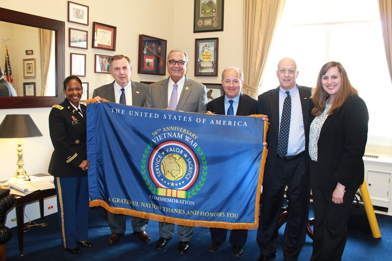 Office of Congressman Jeff Miller becomes a Commemorative partner