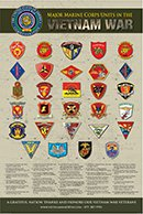 Marine Corps Patch Poster