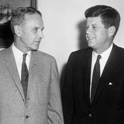 Maxwell Taylor and John Kennedy