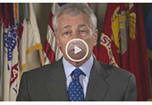 Secretary of Defense Hagel 50th Anniversary Message