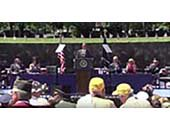 President Obama Speech, Memorial Day at The Wall