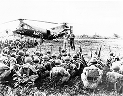 Shawnee Helicopter plus Troops
