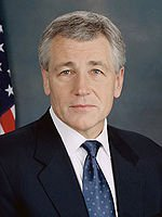 The Honorable Chuck Hagel during Memorial Day at The Wall 2012