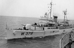 USCGC Half Moon Receiving Stores