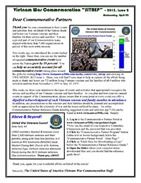 VWC SITREP 2015, Issue 2