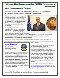 VWC SITREP 2015, Issue 3