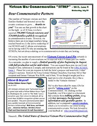 VWC SITREP 2015, Issue 9