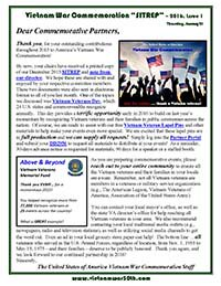VWC SITREP 2016, Issue 1