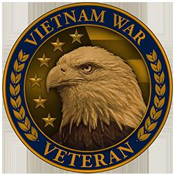 Vietnam Veteran Lapel Pin (Front)
