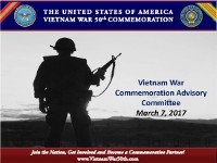 Vietnam War Advisory Committee Meeting 03072017