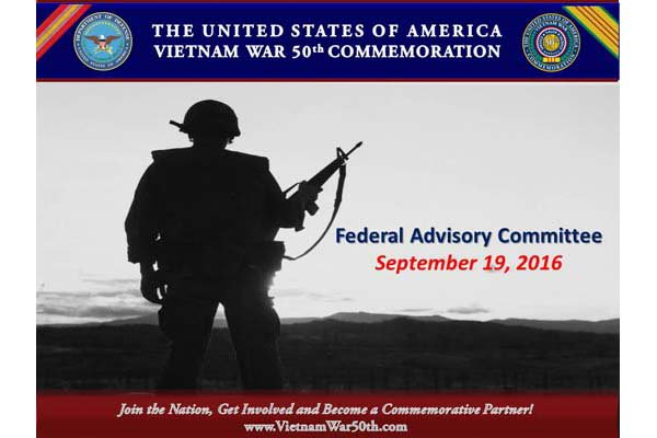 Vietnam War Advisory Committee Meeting 09192016
