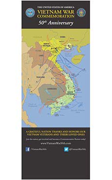Vietnam War Commemoration Map