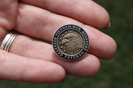 The Vietnam Veteran Lapel Pin