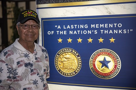 Vietnam War Veterans Honored at Navy Exchange