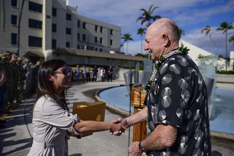 Joint Base Pearl Harbor-Hickam Commemorates Vietnam Veterans with Pinning Ceremony