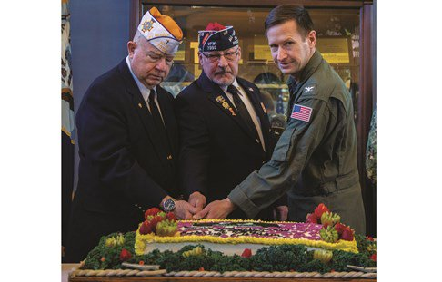 On March 29, 2019 Naval Air Station Whidbey Island hosted a Vietnam Veterans Appreciation Luncheon i