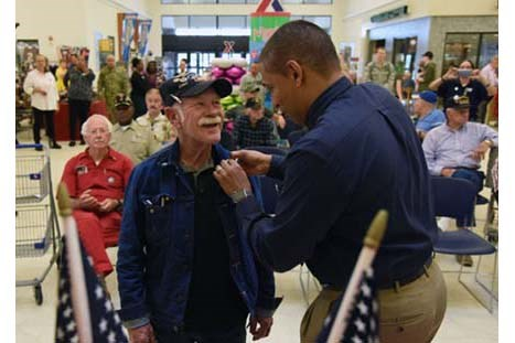 Keesler AFB Exchange Honors Vietnam Veterans