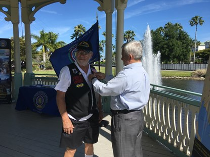 A Vietnam Veteran Gets Pinned in Florida