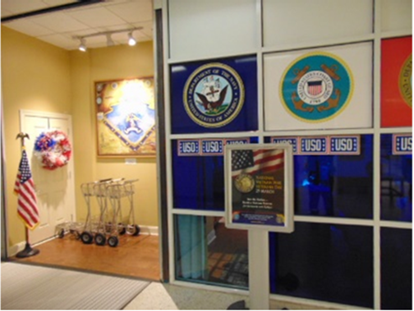 The Transportation Security Administration in Jacksonville Florida Airport observed National Vietnam