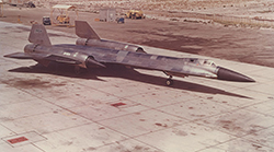 A-12 Taxiing During Testing Phase