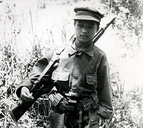 A Hmong soldier
