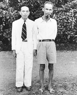 Ho Chi Minh and Vo Nguyen Giap 2