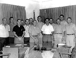Lockheed A-12 Test Pilots and Managers