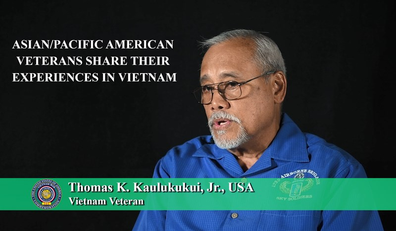 Asian/Pacific American Veterans Share Their Experiences in Vietnam