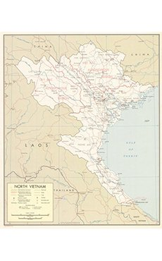 North Vietnam Map