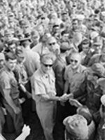Rev. Dr. Billy Graham letter to Vietnam Veterans and their families for Memorial Day at The Wall 2012