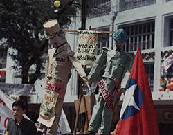 Student Protesters in Saigon