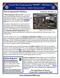 VWC SITREP 2016, Issue 11