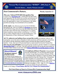 VWC SITREP 2016, Issue 9