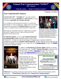 VWC SITREP 2017, Issue 10