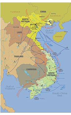 Vietnam War Commemoration Map 2